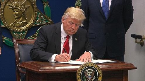 Los 100 días de Trump, perspectiva de Defensa