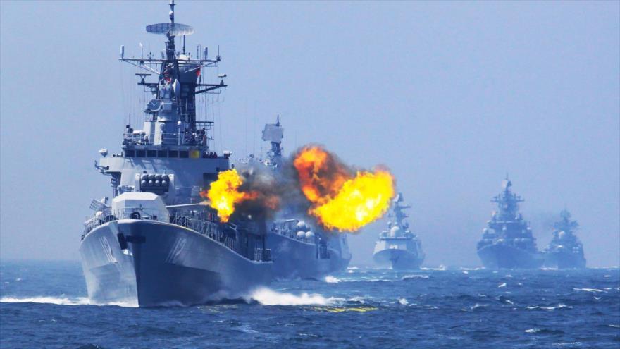 Las maniobras ruso-china 2017 en el mar Báltico